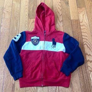 Ralph Lauren polo boys hoodie